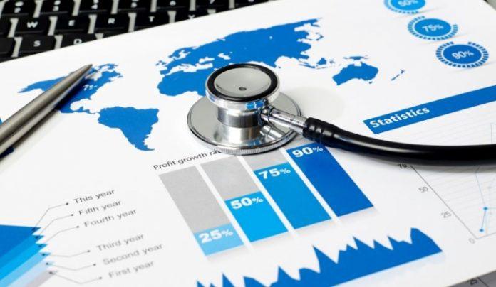 Einer Epidemie oder medizinisches Portal einer nicht Heilung