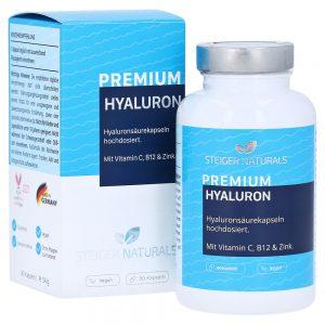 Steiger Naturals Hyaluronsäure Kapseln - bestellen - Amazon - Aktion